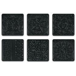 Cedar Canyon Rubbing Plates - Set of 6, Kaleidoscope