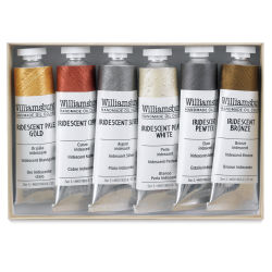 Williamsburg Handmade Oil Paints - Selected Iridescents Set of 6