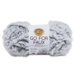 Lion Brand Go For Faux Yarn - Chinchilla, 64 yds
