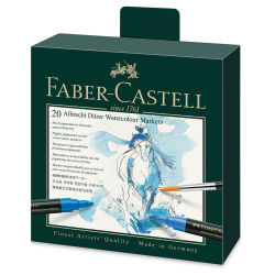 Faber-Castell Albrecht Dürer Watercolor Markers - Set of 20