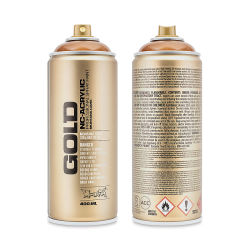 Montana Gold Acrylic Professional Spray Paint - Transparent Hazelnut, 400 ml can