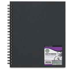 Daler-Rowney Simply Sketchbook - 11'' x 8-1/2'', Extra White, Wirebound, 80 Sheets