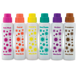 Do-a-Dot Art Markers - Mini Markers, Island Brights, Set of 6