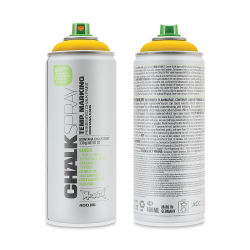 Montana Chalk Spray Paint - 400 ml, Yellow