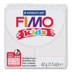 Staedtler Fimo Kids Polymer Clay - White, 1.5 oz