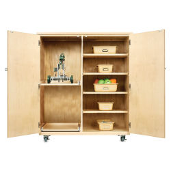 Diversified WoodCrafts Robotics Storage Cabinet - Totes included, Robot not included