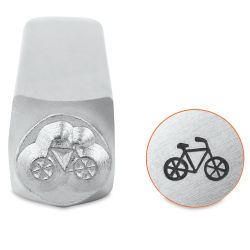 ImpressArt Design Stamp - Bicycle, 6 mm