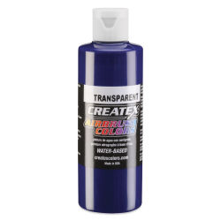 Createx Airbrush Color - 4 oz, Transparent Brite Blue