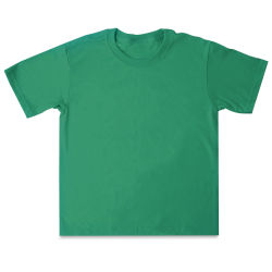 First Quality 50/50 T-Shirts, Youth Sizes - Kelly Green Medium (10-12)