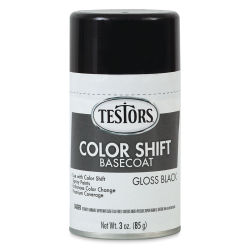 Testors Craft Color Shift Spray Paint - Basecoat, Black, 3 oz
