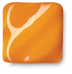 Amaco High Fire Glaze, Orangerie