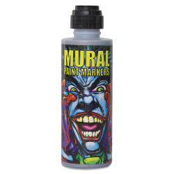 Chroma Mural Paint Markers - Rock Star (Silver), 4 oz Can