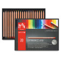 Caran d'Ache Luminance Colored Pencils - Assorted Colors, Set of 20
