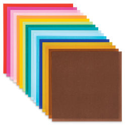 "Aitoh Modern Colors Origami Papers - Assorted Colors, 7"" x 7"" (Assorted sheets)"