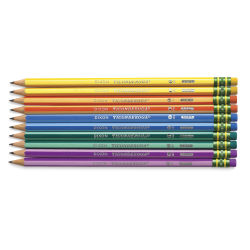 Ticonderoga No. 2 Striped Pencils, Pkg of 10