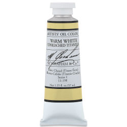 M. Graham Artists' Oil Color - Warm White (Unbleached Titanium), 37 ml tube