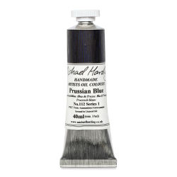 Michael Harding Artists Oil Color - Prussian Blue, 40 ml tube