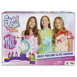 Swirl and Style Tie Dye Design Station Kit Front of Box