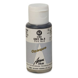 Holbein Aeroflash Liquid Acrylic - 35 ml, Opaque Gray #8