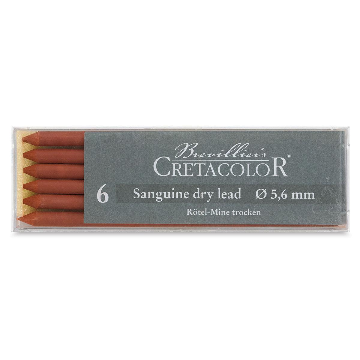 Cretacolor Artist Lead Sanguine Dry 6 Pack