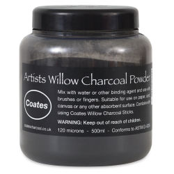 Coates Willow Charcoal Powder - 500 ml