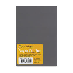 Richeson Easy-to-Cut Unmounted Linoleum - 4'' x 6''