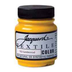 Jacquard Textile Color - Goldenrod, 2.25 oz jar