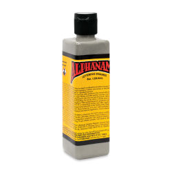 Alpha6 Alphanamel Lettering Enamel - Light Grey, 236.6 ml, Bottle