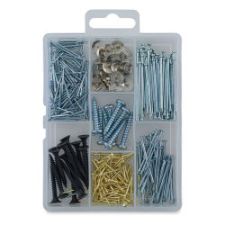 Hillman Homepak Tacks, Nails, Brads, and Screws Assortment