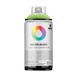 MTN Water Based Spray Paint - Brilliant Yellow Green Medium, 300 ml Can