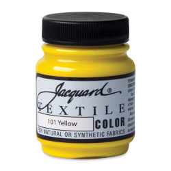 Jacquard Textile Color - Yellow, 2.25 oz jar