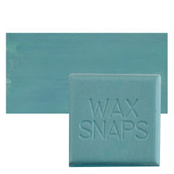 Enkaustikos Wax Snaps Encaustic Paints - Rochester Thunder, 40 ml, Cake with Swatch