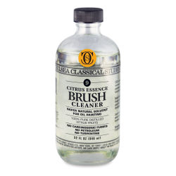 Chelsea Classical Studio Brush Cleaner - Citrus Essence Brush Cleaner, 32 oz