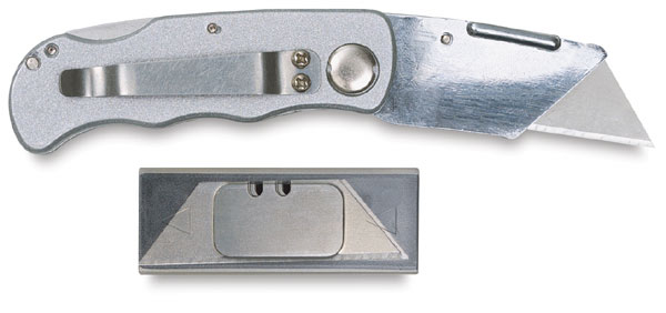 Excel Blades Folding Utility Knife
