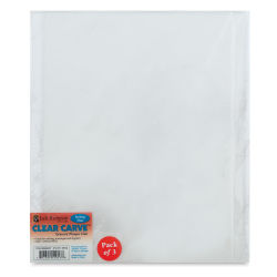 Richeson Clear Carve Etching Plates - 8'' x 10'', Pkg of 3