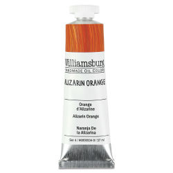 Williamsburg Handmade Oil Paint - Alizarin Orange, 37 ml tube