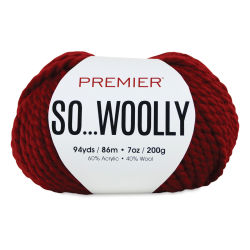Premier Yarn So Woolly Yarn - Red
