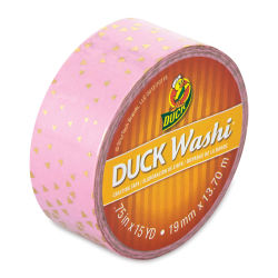 ShurTech Duck Washi Tape - Metallic Triangle, 3/4'' x 45 ft