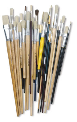 Richeson Slightly Imperfect Assorted Brush Set - Set of 42