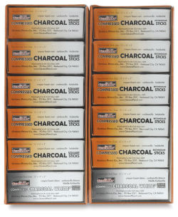 Compressed Charcoal, Class Pack of 144