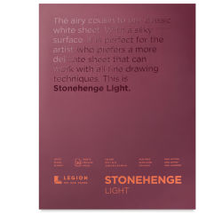 Legion Stonehenge Drawing Paper Pads - Lightweight, 9'' x 12'', 30 Sheets
