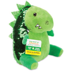 Faber-Castell Creativity for Kids Sequin Pet - Mini Dazzle the Dinosaur