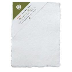 Shizen Professional Watercolor Paper - 9'' x 12'', Cold Press, Pkg of 5 Sheets