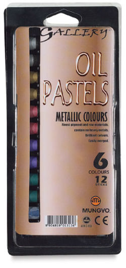 Metallic Oil Pastels, Set of 12