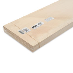 "Bud Nosen Basswood Sheets - 1/8"" x 8"" x 24"", 10 Sheets"