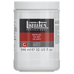 Liquitex Medium - Gel Medium, Matte, 32 oz jar