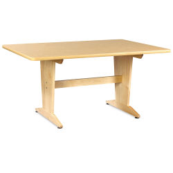 Diversified Woodcrafts Planning Table - Birch Laminate Top, 30''H x 60''W x 42''D