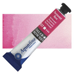 Daler-Rowney Aquafine Watercolors and Sets - Permanent Rose, 8 ml, Tube