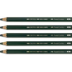Faber Castell 9000 Jumbo Pencils and Set
