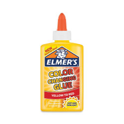 Elmer's Color Changing Glue - Yellow, 5 oz